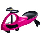 Lil' Rider Wiggle Car Ride on - Pink (8.9 Lb)