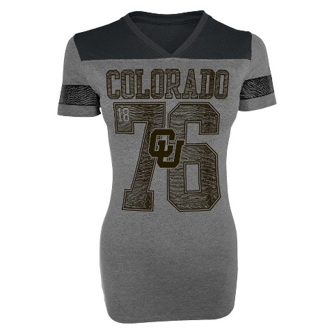 Colorado Buffaloes Women's V-Neck T-Shirt