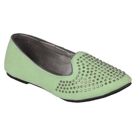 Girl's Journee Collection Studded Flats