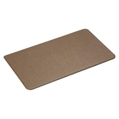 Imprint Comfort Kitchen Mat Nantucket Series Mocha 26x72 Target