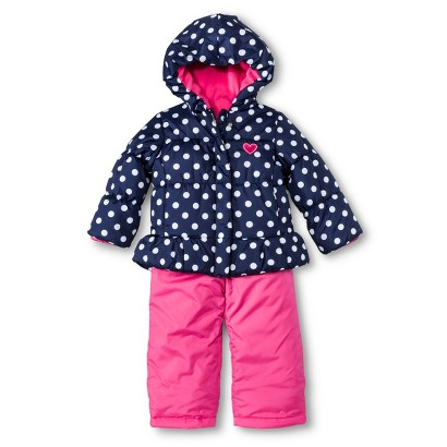 Just One You™ Made by Carter's® Infant Toddler Girls' 2-Piece Snow Set