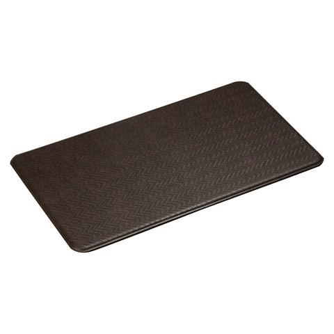 imprint comfort kitchen mat cobblestone series espresso