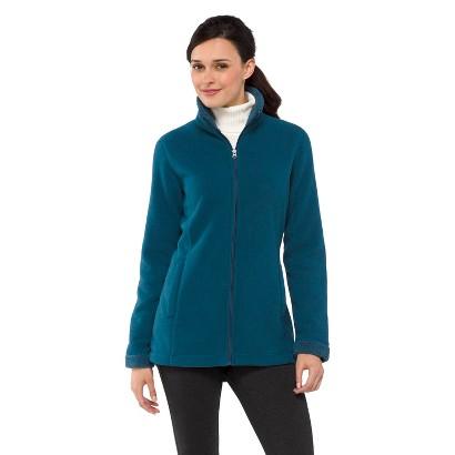 Women's Sherpa Fleece Jacket Teal