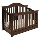 DaVinci Cameron 4-in-1 Convertible Crib with Toddler Bed Conversion Kit in Espresso Finish