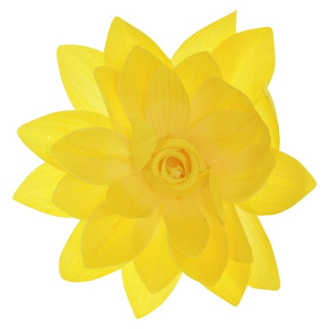 Women's Riviera® Flower Salon Clip/Pin with Glitter - Yellow
