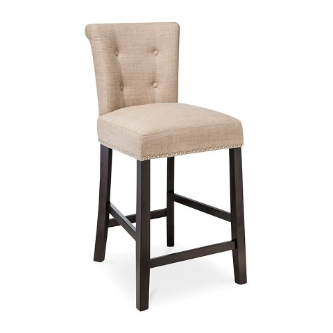 Scrollback With Nailhead 24 Counter Stool Target