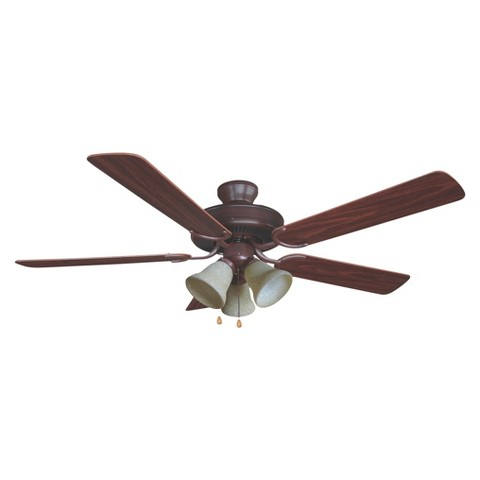 "Yosemite Ceiling Fan Oil Rubbed Bronze 52"" Tar"