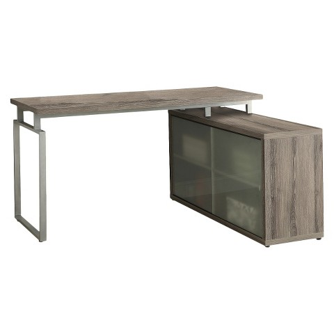 Monarch Hollow Core L-Shaped Desk