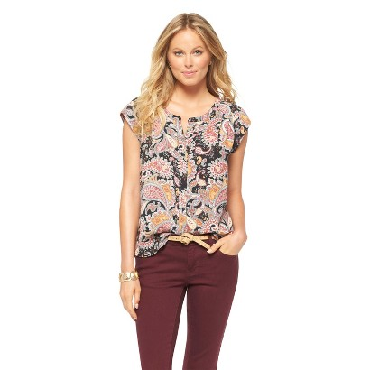 Women's Split Neck Blouse