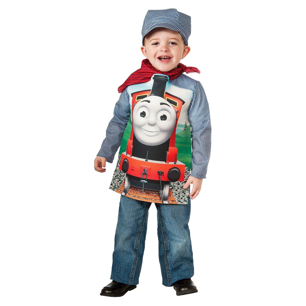 Boy's Deluxe James Toddler/Child Costume - S(4-6)