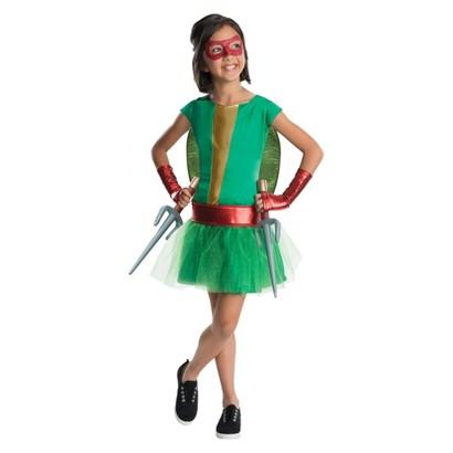 Girl's TMNT - Deluxe Raphael Girl Tutu Kids Costume