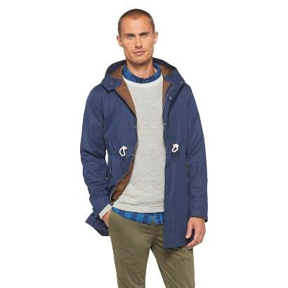 Jeffrey Max Men's Stone Washed Rain Jacket