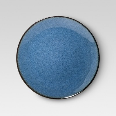 Threshold™ 4 pack Belmont Dinner Plate - Blue