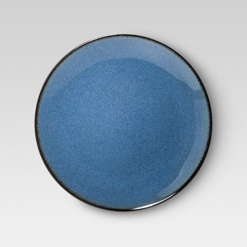 Threshold Belmont Stoneware Reactive Dinner Plate Set Of 4