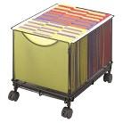 Safco® Onyx Mesh Mobile Filing Cube - Black