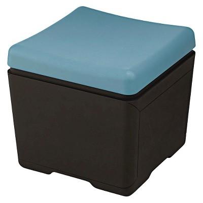 Ecom Vertical Filing Cabinet Black Aqua Polyethylene 0number Of Drawers Iceberg