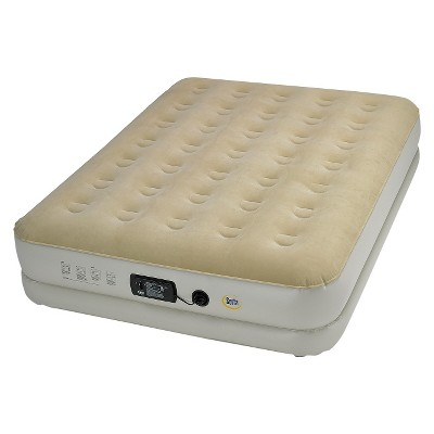 Serta Insta III Pump Air Mattress - Double High Queen