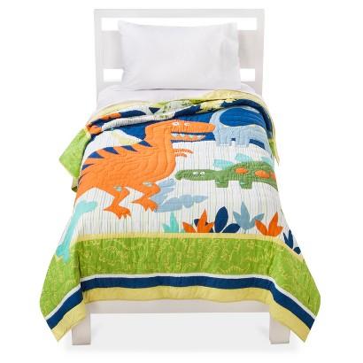 Circo Dinosaur Embroidery Quilt