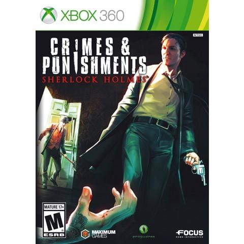 Crimes and Punishments: Sherlock Holmes™ (Xbox 360)