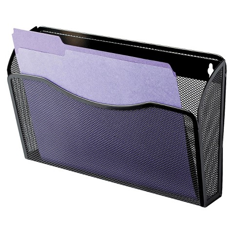 rolodex single pocket wire mesh wall file lette target With mesh wall letter file