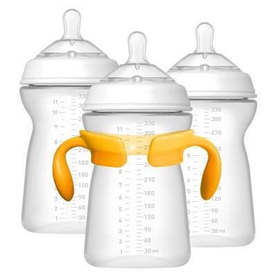 Chicco NaturalFit 3pk 11oz 6M+ Baby Bottle Set