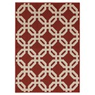 Mohawk Octovation Area Rug - Red (5'x7')