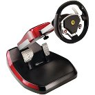 Thrustmaster Scuderia Ferrari Wireless GT 430 Cockpit Set Steering Wheel - Black/Red (PlayStation 3)