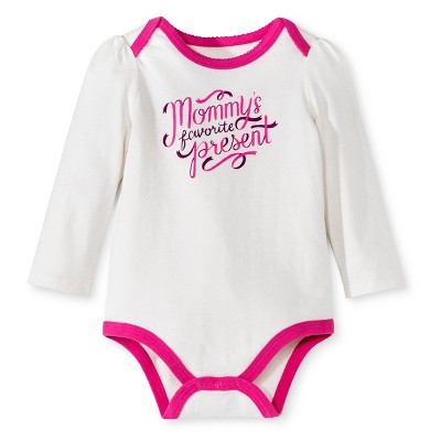 Circo® New Born Girls Bodysuit - Almond Cream 0-3 M