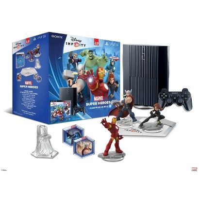 Disney Infinity: Marvel Super Heroes (2.0 Edition) PlayStation 3 12GB Console Bundle