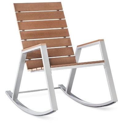 Bryant Faux Wood Patio Rocker - Threshold™