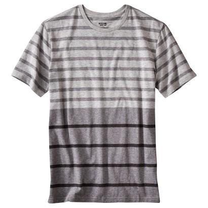 Mossimo Supply Co. Men's Striped T-Shirt Shairzay Grey