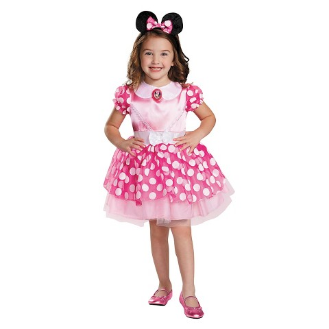 Clubhouse Pink Minnie Mouse Costume