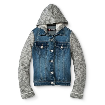 Girls' Hooded Jean Jacket