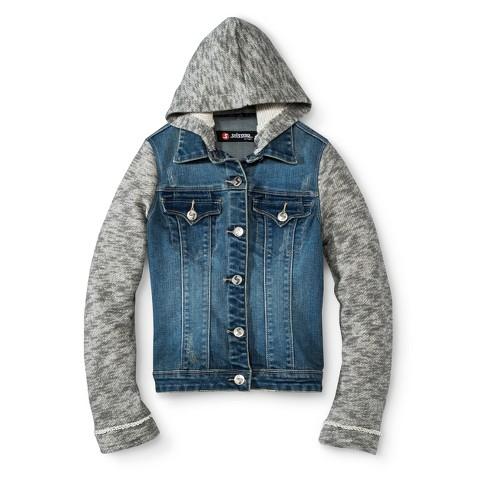 Girls' Hooded Jean Jacket