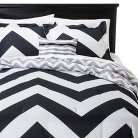 Leo 4 Piece Comforter Set - Black (King/California King)