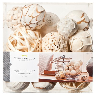 Vase Filler Decorative Balls White Threshold™
