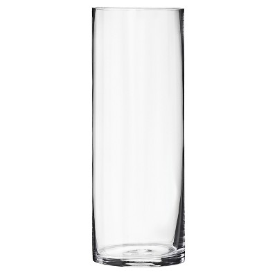 Threshold™ Medium Cylinder Glass Vase