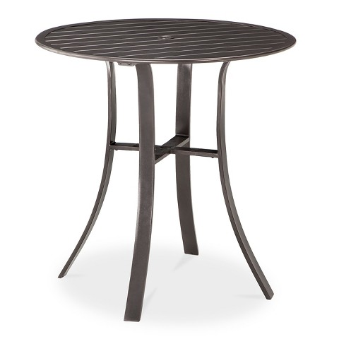 camden 40 round balcony height patio dining tab target