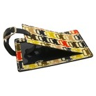 Orla Kiely Luggage Tag Small Cars  Multicolor