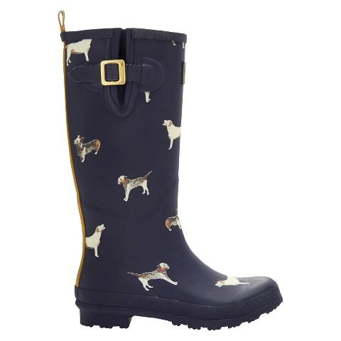Cool Women39s Novel Dot Rain Boots  Target