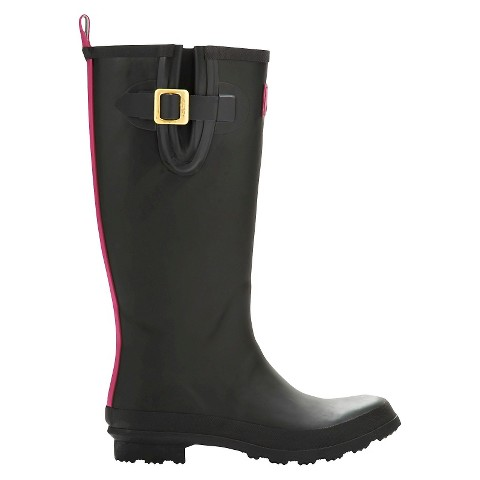 Simple Joules Women39s Rain Boots  Black  Target