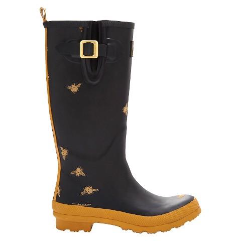 Elegant Women39s Floral Rain Boots  Target