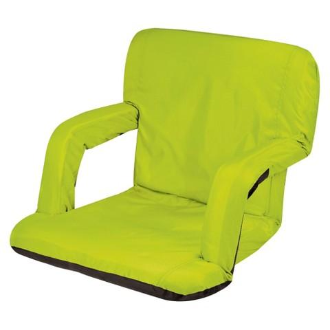 Picnic Time Ventura Portable Stadium Seat - Lime (10.0 Lb)