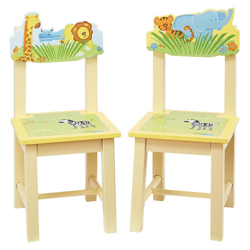 Guidecraft Savanna Smiles Chairs - Set of 2