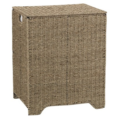 Household Essentials® Seagrass Single Hamper with Removable Bag -  Natural