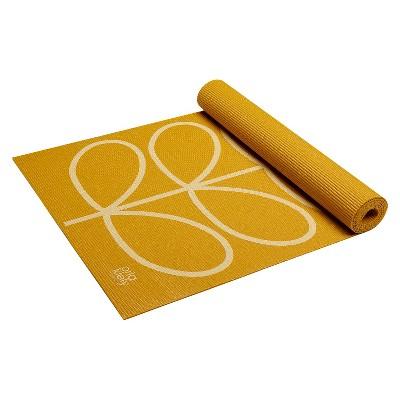 Orla Kiely by Gaiam™ Linear Stem Yoga Mat - Sunflower Yellow (3mm)