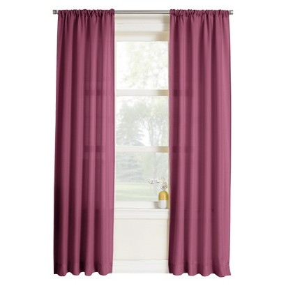 maeve heathered print curtain panel berry target