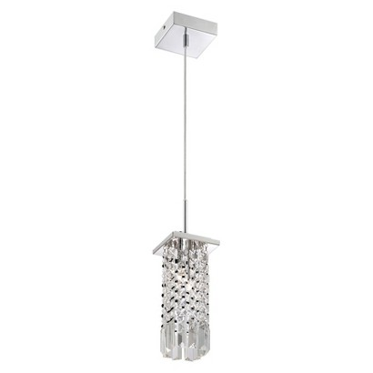 Lite Source Helaine Ceiling Light - Silver