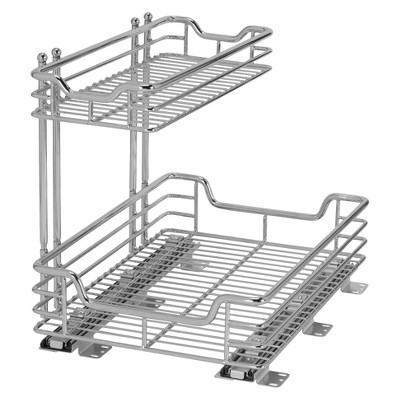"Design Trend® Glidez™ Sliding Under-Cabinet 2-Tier Organizer (12"")"