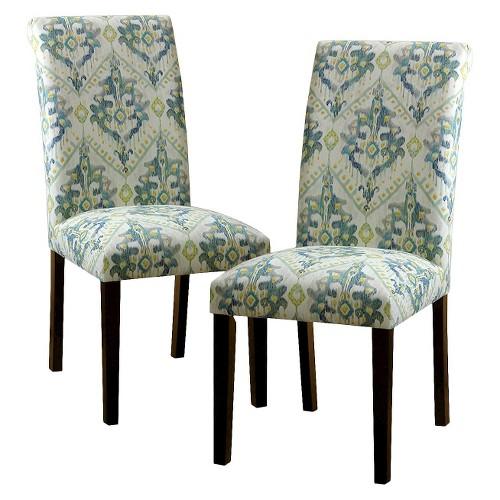 avington print accent dining chair ebay. Black Bedroom Furniture Sets. Home Design Ideas